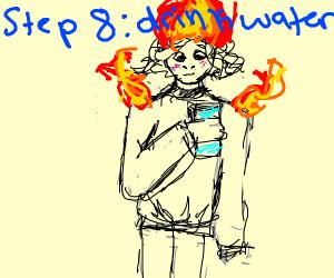 step 7: grow as a fire