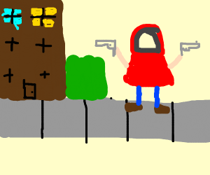 Little Red Riding in da Hood