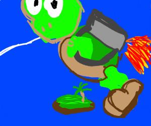 Koopa Troopa With A Jetpack