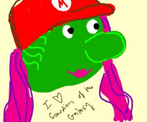 Gamora Mario cosplay