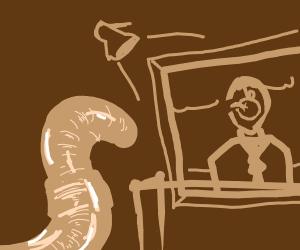 Earthworm Artwork