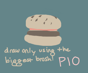 Draw only using the biggest brush! (PIO)