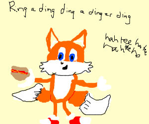 What does tails the fox say?