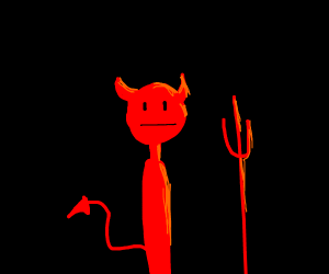 Devil with no arms