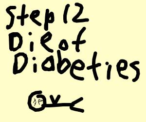 step 11: get diabetes