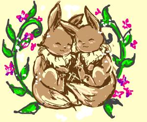 Eevee in love