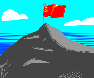 Rise up the Soviet Union flag!