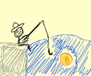 Fishing for bitcoins