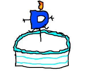 Drawception birthday cake