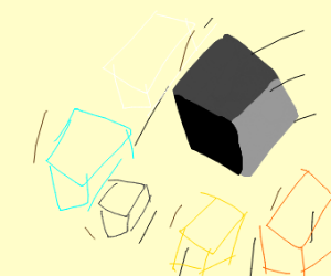 A blocky world sliding