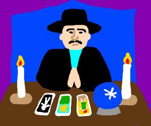 Male fortune teller