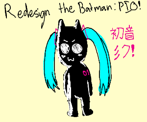 Redesign the Batman PIO