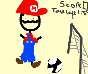 Another Mario Sports Game