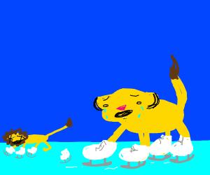 lion king on ice