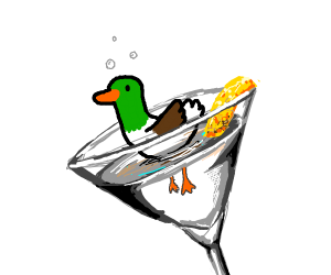 martini duck