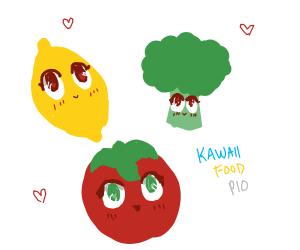 Kawaii food (P.I.O)