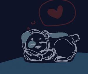 Panda dreams about love
