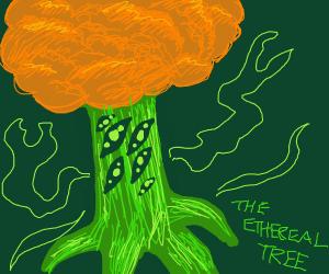 Kool Green Tree Creature!