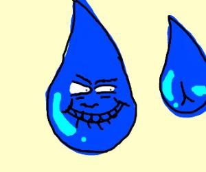 Water drop is a pervert