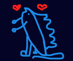 Godzilla in love