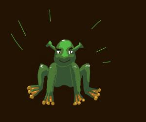 shrek/frog