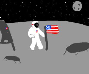 (fake) moonlanding