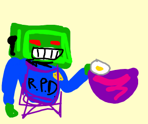 Robocop Baking