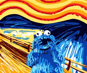 Cookie Monster instead of screamer