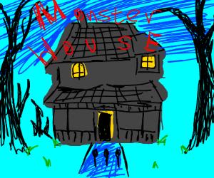 Monster house ( the horror movie )