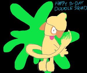 happy bday doodle squad!