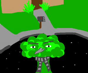 Broccoli Gru in the neighbourhood