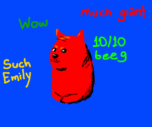 Clifford but it's Doge