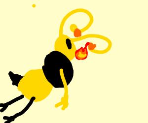 bee fire breath
