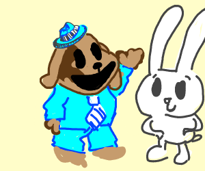 Sam and Max but they're cute