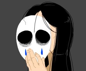 Crying mask