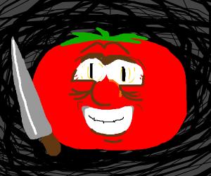 Crazy psycho tomato