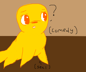 yellow seal doesn't understand comedy