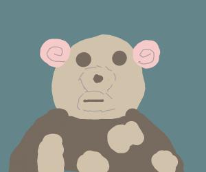 Panda has slowpoke ears