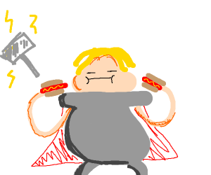 Thor gets fat