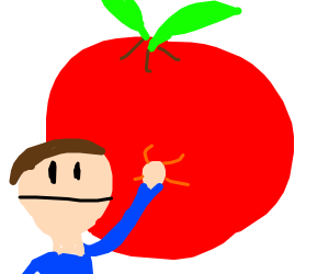 big apple or small man