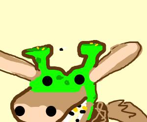 Shrek x Donkey fusion