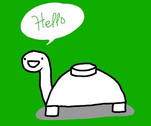 Hello mine turtle! (Hello!)