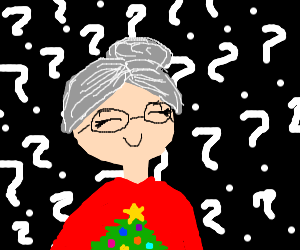 Mrs Clause?????????????????????????