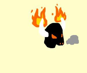 demonic bull