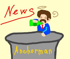 Drunk News reporter / Anchorman