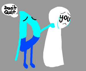 Drawception d doesn't want you to quit