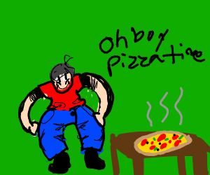 it's pizza time.
