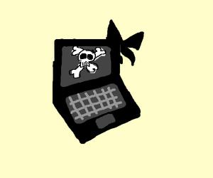 Goth Laptop