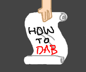 dab ettiquite (i have no faith for humanity)