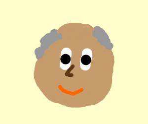 a bald-ish man